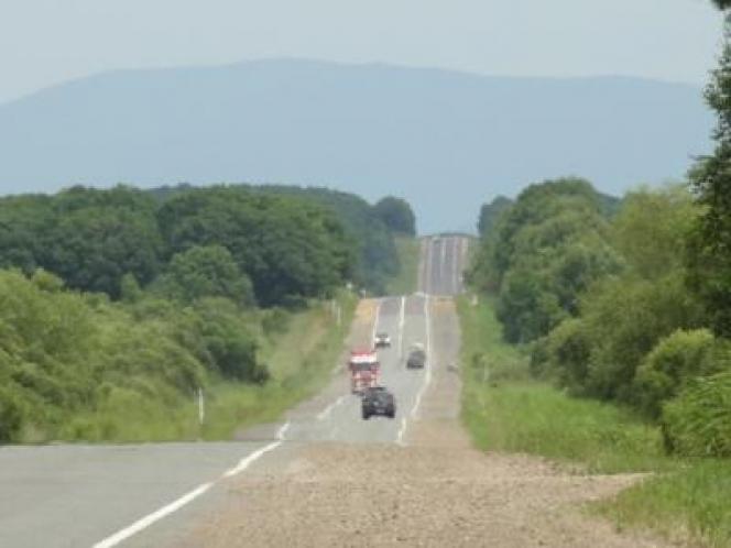 ロシア 道路