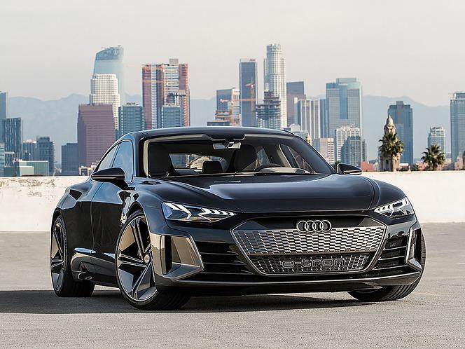 アウディ e-tron GT concept