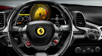 フェラーリ 458イタリアのインパネ