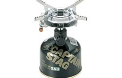 アマゾン CAPTAIN STAG オーリック小型ガスバーナーコンロ