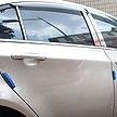 韓国のタクシーでよく見かけるドアの「青いスポンジ」。これってなに?