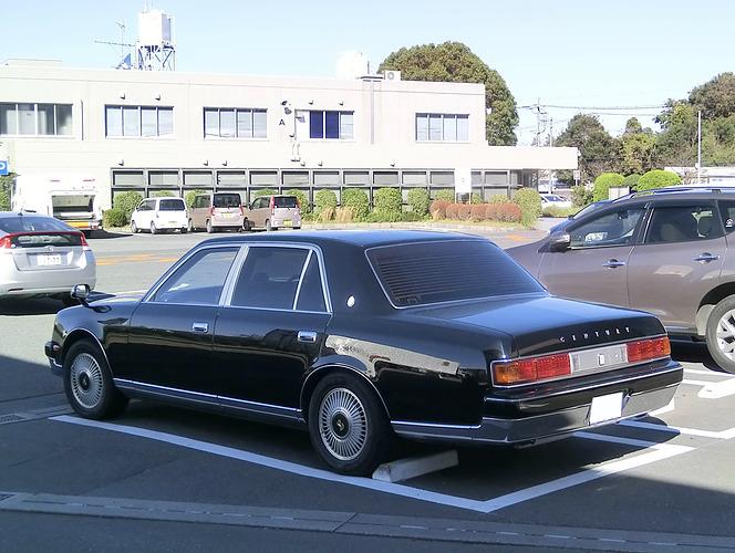 トヨタ センチュリー(永田恵一撮影)