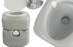 .ポータブル水洗トイレ 21L 水洗式 タンク取り外しタイプ SunRuck SR-PT4521