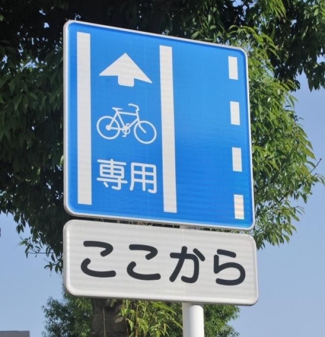 自転車専用道路 標識