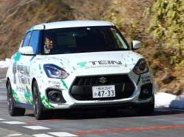 話題のZC33スイフトスポーツ TEINの車高調とEDFCで走りは変化するのか?斎藤聡がインプレッション