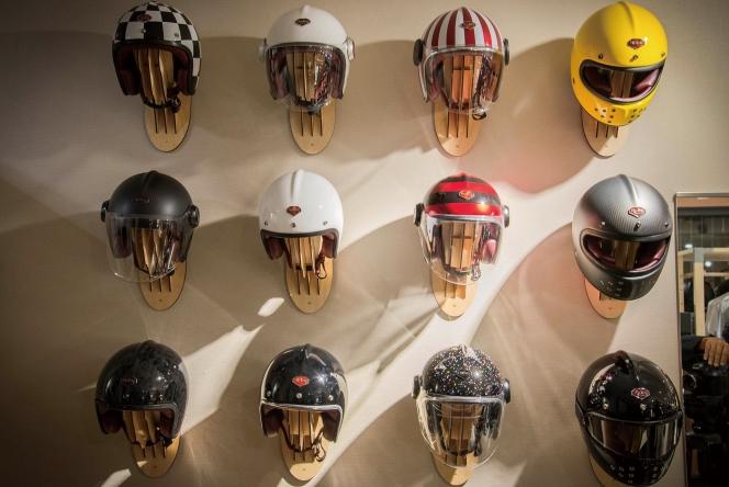 アヘッド バイク ヘルメット