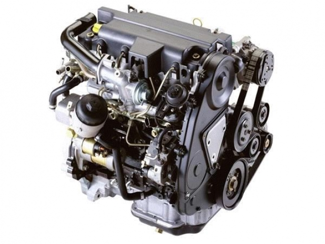 いすゞディーゼルエンジン