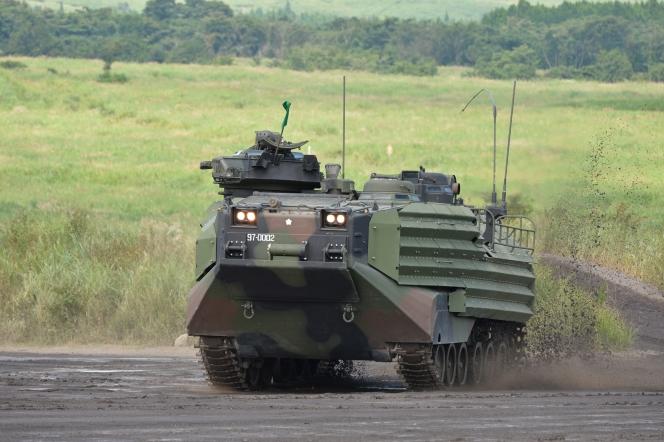 AAV 水陸両用車