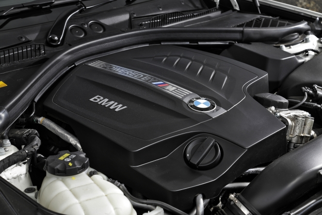 BMW M2 engine