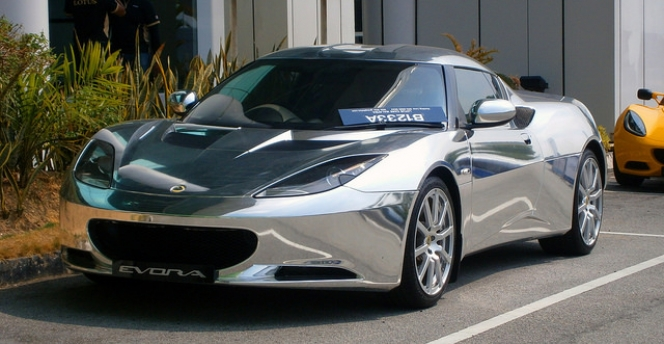 2014 Lotus Evora (Chrome Plated)
