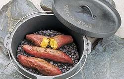 キャプテンスタッグ(CAPTAIN STAG) キャンプ バーベキュー BBQ用 焼きいも用石 3kgM-5532