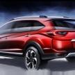 ホンダの新SUV、BR-Vがインドネシアモーターショー2015で公開予定!