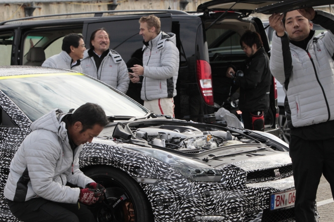 日産 GT-R (2014:Nurテスト)