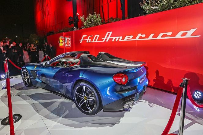 フェラーリ F60 アメリカ