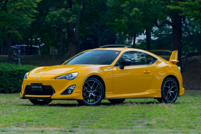 2015 Toyota 86 GT Yellow Limited Aero Package FT