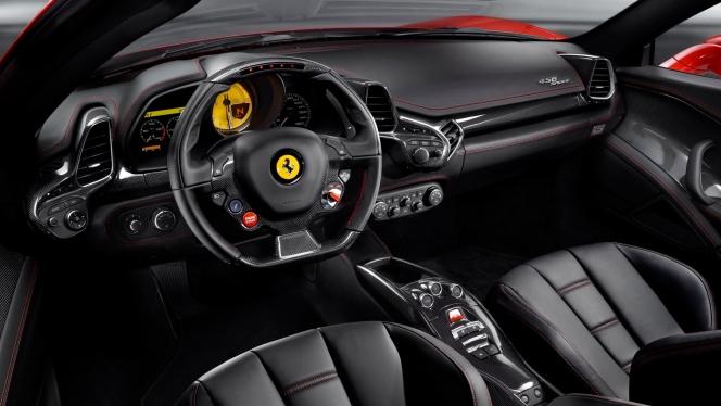 フェラーリ 458 イタリア インテリア