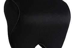 Aoomiya ネックパッド 車 クッション 低反発(ブラック)