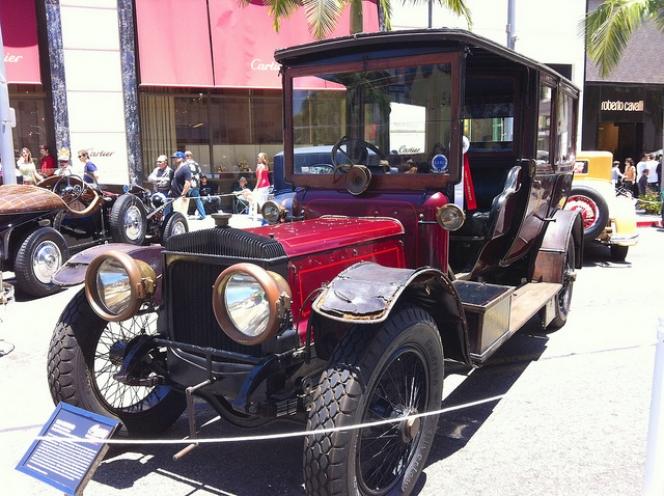 Daimler 1910 Limousine