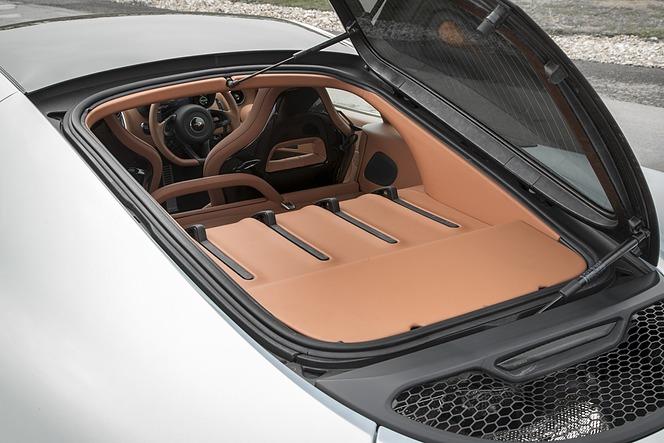 マクラーレン 570GT リアガラス