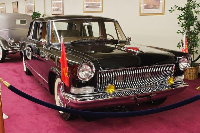 中国の国産高級車「紅旗」