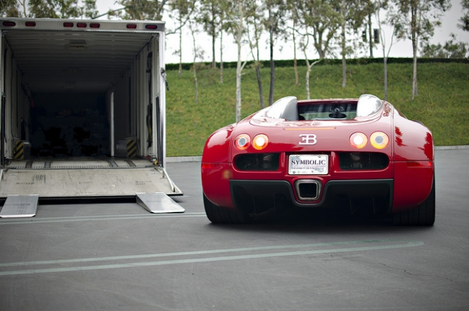 red Veyron