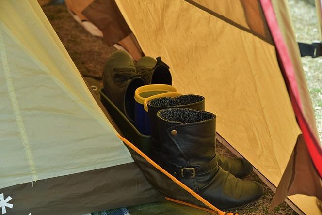 ランタン 子連れの冬キャンプ