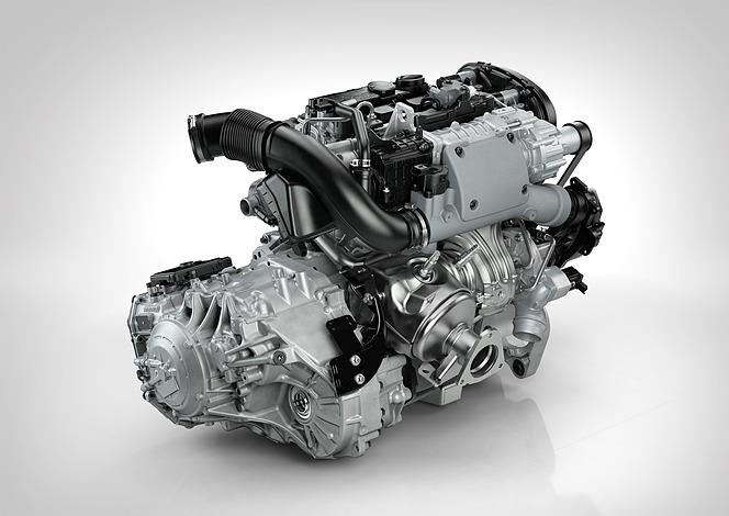 ボルボ ドライブ-E エンジン 4気筒 T6