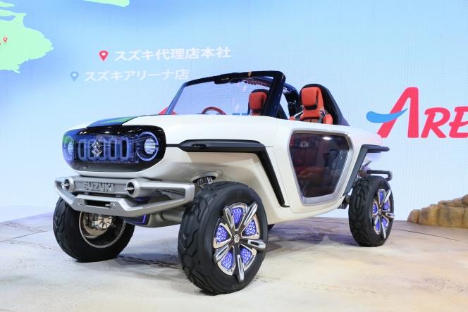 【東京モーターショー2017】スズキ e-SURVIVOR