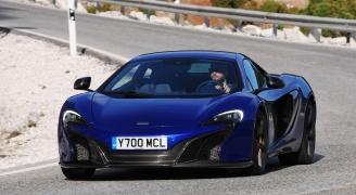 McLaren 650S Coupe Blue
