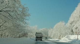 雪道(photoACより)