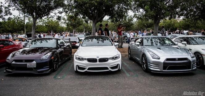 R35 GT-R BMW M4