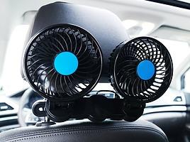 車中泊にもおすすめ!車用扇風機の人気ランキングを調査します!