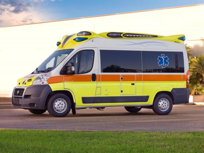 イタリアの救急車