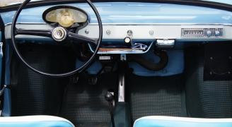 Fiat 500 Nuova 1959年モデル インテリア