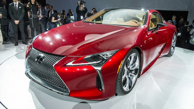 LC500 Front
