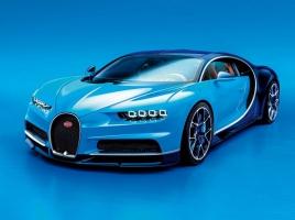 ヴェイロンの後継車…最高出力1500馬力のブガッティ「シロン」がついにワールドプレミア!