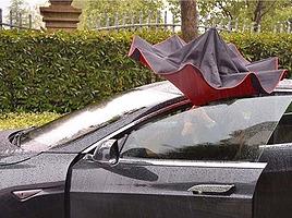 雨の日の乗車で濡れないための対策とは?