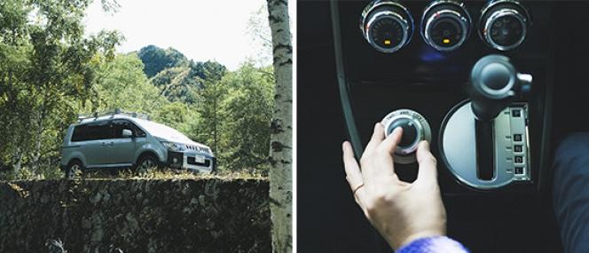 三菱 デリカD5 電子制御4WD