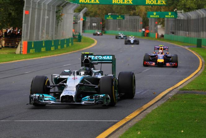 2014オーストラリアGP メルセデス