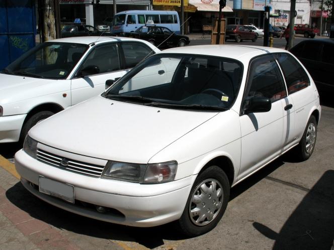 トヨタ コルサ II 1.3 TX 1991