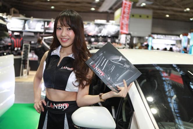 【大阪オートサロン】コンパニオン