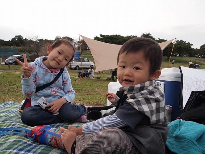 ランタン 子ども キャンプ