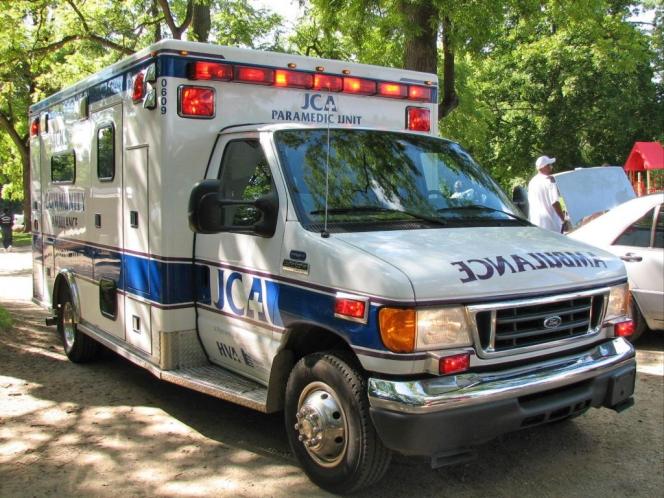 アメリカの救急車