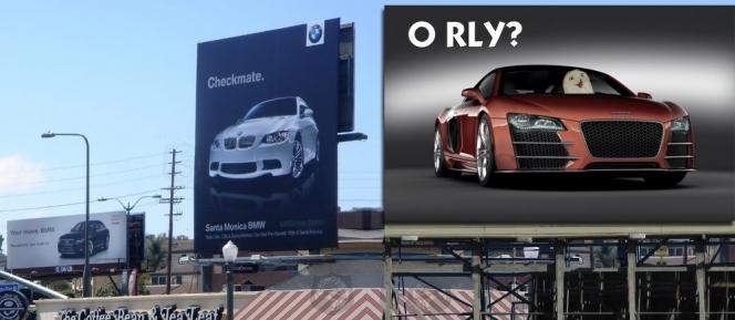 Audi「ふううううん本当うううう?」(海外の反応、コラ画像)