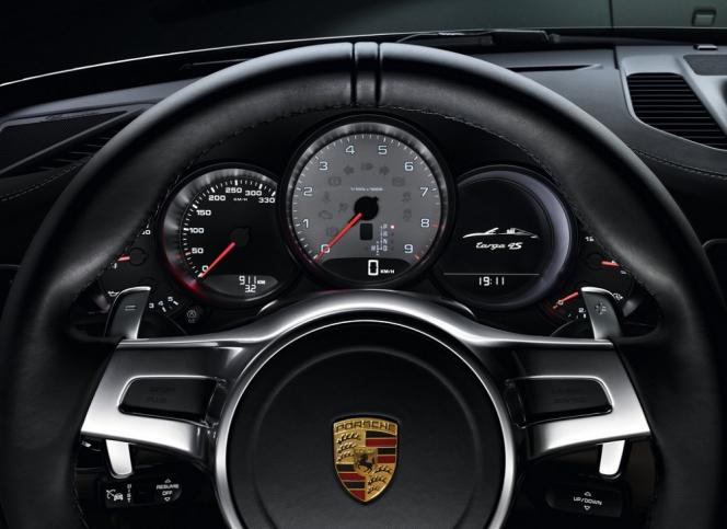 ポルシェ 911 2014年モデルメーターパネル