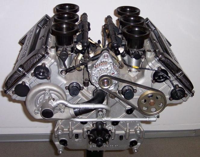 メルセデスのV6エンジン