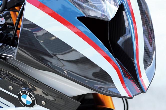 アヘッド BMW HP4 RACE