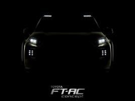 トヨタのコンセプトモデル『FT-AC』、国内では次期型RAV4か?