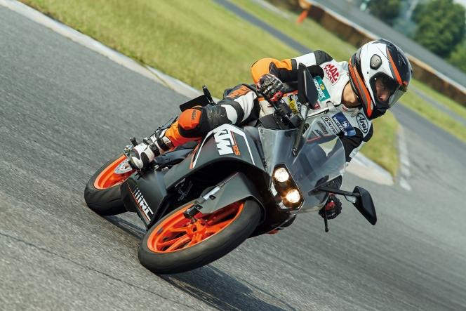 アヘッド KTM RC 125
