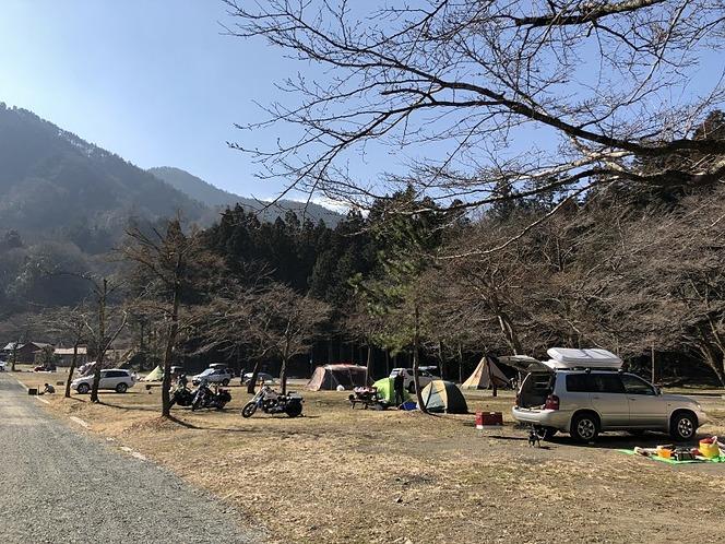 ランタン キャンプ場